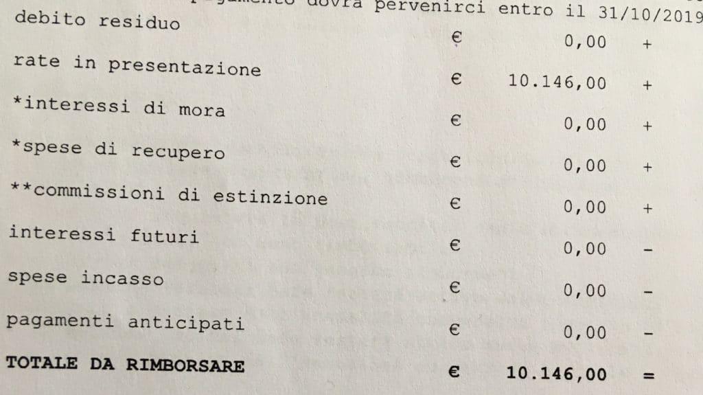La maledetta maxirata da 10.146€