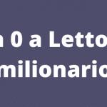 Da 0 a Lettore (milionario)