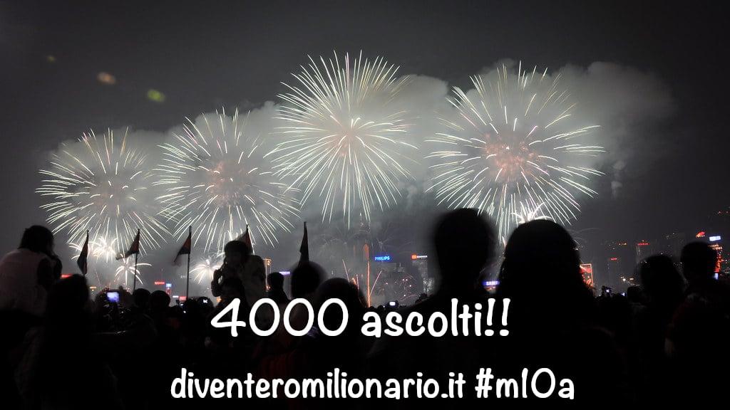 4000 ascolti!