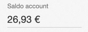 Devo dare 26.93€ ad eBay