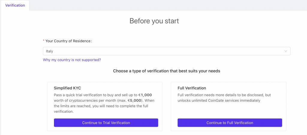 La trial verification è più veloce