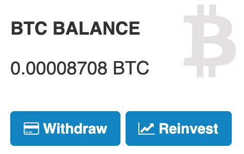 Possiamo reinvestire i nostri BTC per guadagnare ulteriormente minando Bitcoin