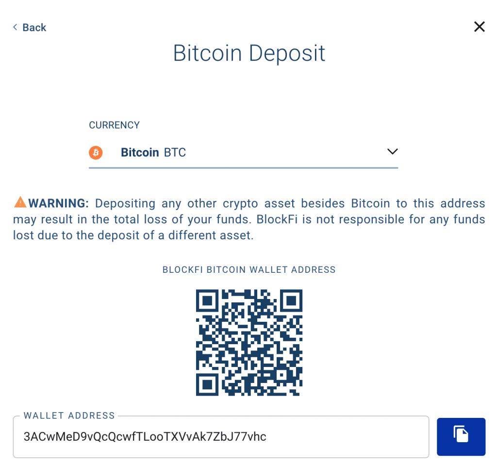Depositiamo Bitcoin