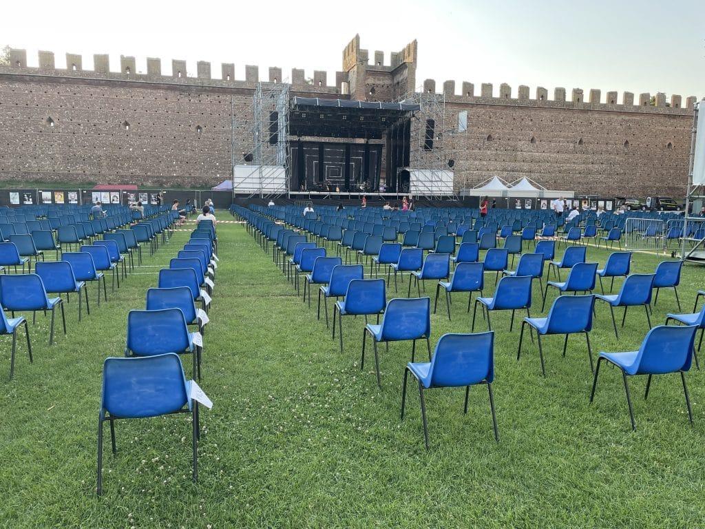 Concerto di Nicolò Fabi al Castello Scaligero