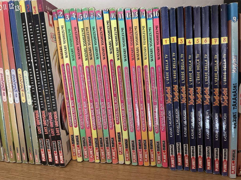 Serie di fumetti trovata