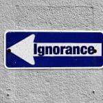Quanto costa l'ignoranza e la superficialità