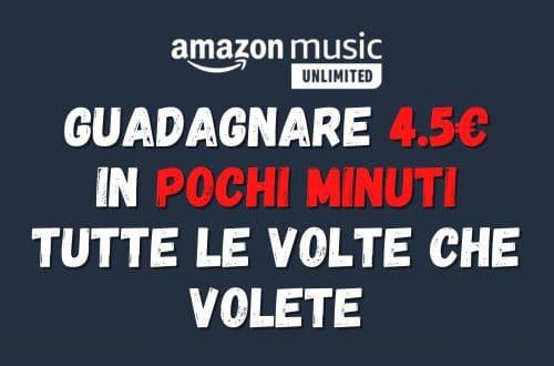 Guadagnare 4.5€ con Amazon