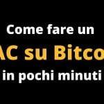 Come fare un PAC su Bitcoin in maniera semplice