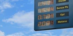 Aumento metano auto a 2€